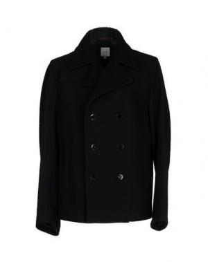 Пальто COSTUME NEMUTSO. Цвет: темно-синий