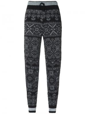 Knitted pants Cecilia Prado. Цвет: чёрный