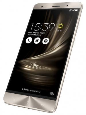 Смартфон ZenFone 3 Deluxe ZS570KL 64Gb, золотистый Asus. Цвет: золотистый
