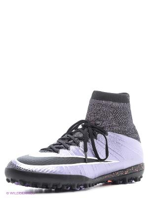 Шиповки MERCURIALX PROXIMO TF Nike. Цвет: фиолетовый