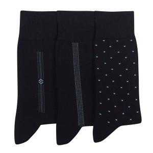 3 пары носков, 90% фильдекоса La Redoute Collections. Цвет: черный
