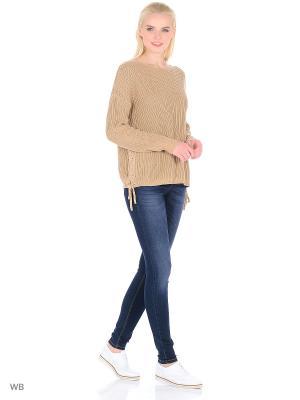 Женские джинсы Imajeans. Цвет: синий