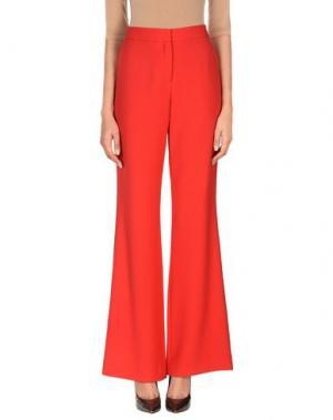 Повседневные брюки PRABAL GURUNG. Цвет: красный