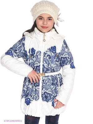 Пальто Steen Age. Цвет: голубой
