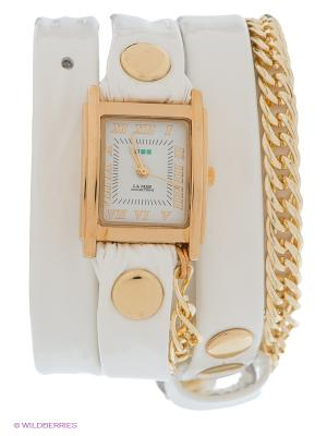 Часы La Mer Collections. Цвет: белый, золотистый