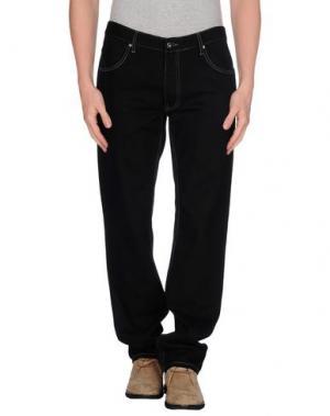 Джинсовые брюки CARAMELO. Цвет: черный