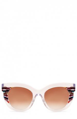 Солнцезащитные очки Thierry Lasry. Цвет: прозрачный