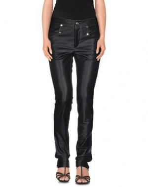 Джинсовые брюки HOGAN by KARL LAGERFELD. Цвет: черный
