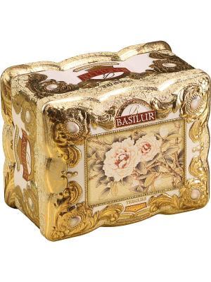 Чай Basilur ЛАРЕЦ Лунный камень, 1. Цвет: золотистый, белый