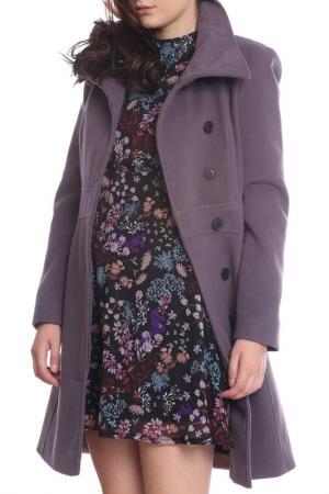 Пальто Emma Monti. Цвет: фиолетовый