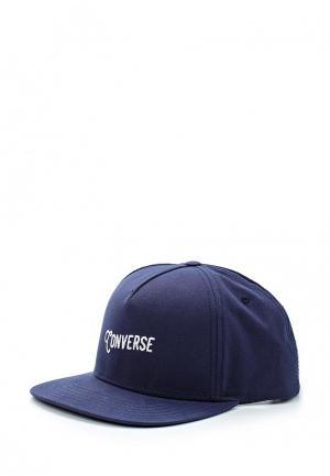 Бейсболка Converse. Цвет: синий