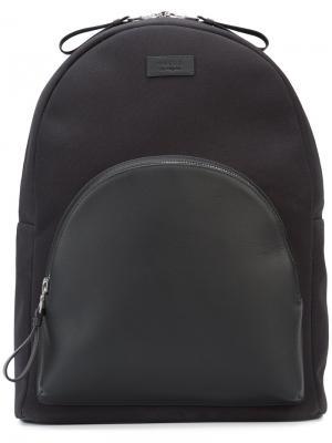 Рюкзак с передним карманом Valas. Цвет: чёрный