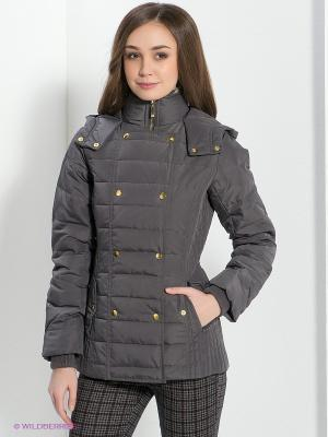 Куртка New Look. Цвет: серый