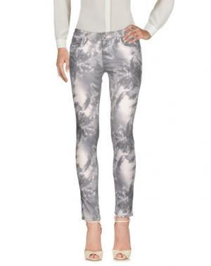 Повседневные брюки REIKO. Цвет: серый