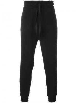 Классические спортивные брюки Blood Brother. Цвет: чёрный