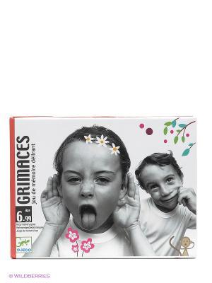 Детская настольная карточная игра Гримасы DJECO. Цвет: серый