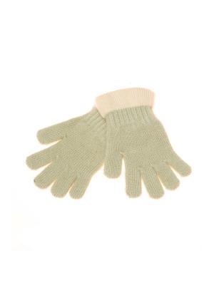 Перчатки Shapkoff. Цвет: оливковый, кремовый
