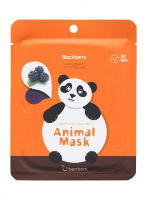 Маска для лица серии Animal mask  Панда Berrisom. Цвет: белый