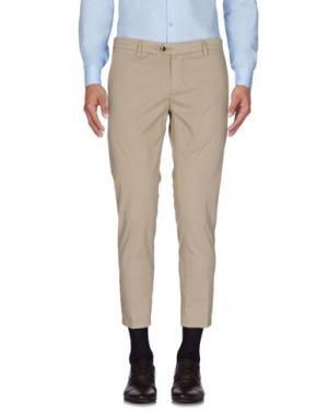 Повседневные брюки TAKESHY KUROSAWA. Цвет: бежевый