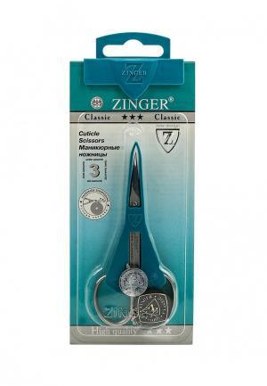 Ножницы для маникюра Zinger. Цвет: серый