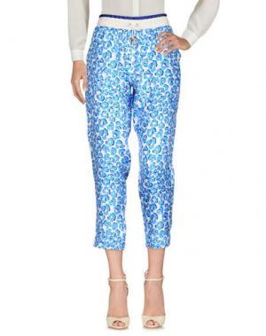 Повседневные брюки CAPRI. Цвет: лазурный