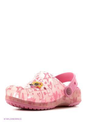 Сабо Effa. Цвет: розовый, лиловый
