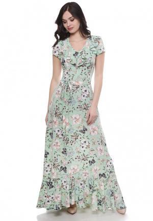 Платье Olivegrey. Цвет: мятный