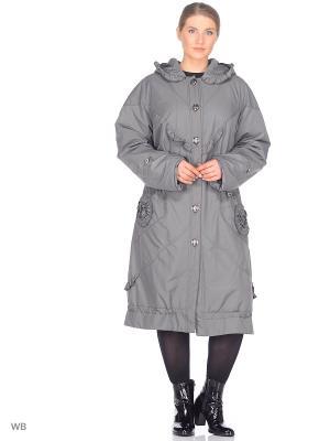 Пальто Джес VIKO. Цвет: оливковый