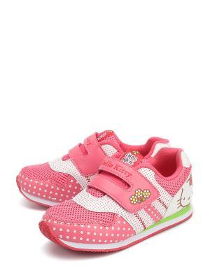Кроссовки Hello Kitty. Цвет: розовый