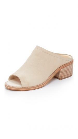 Туфли без задников Kyla Dolce Vita. Цвет: золотой