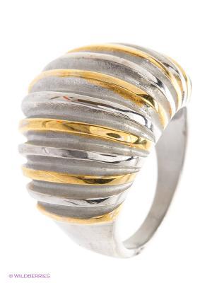 Кольцо by LA STRASA. Цвет: серебристый, золотистый