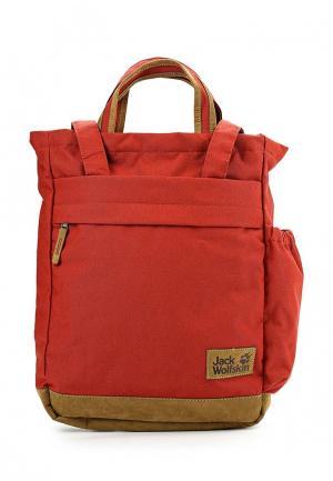 Рюкзак Jack Wolfskin. Цвет: оранжевый