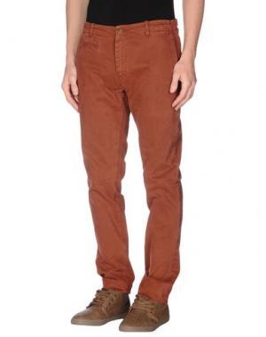 Повседневные брюки ORIGINAL VINTAGE STYLE. Цвет: кирпично-красный
