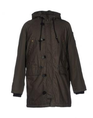 Куртка DESIGUAL. Цвет: зеленый-милитари