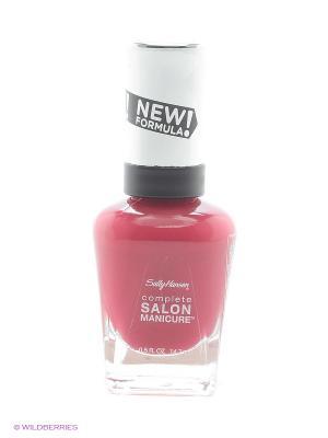 Лак для ногтей Salon Manicure Keratin, тон aria red-y #565 SALLY HANSEN. Цвет: темно-красный