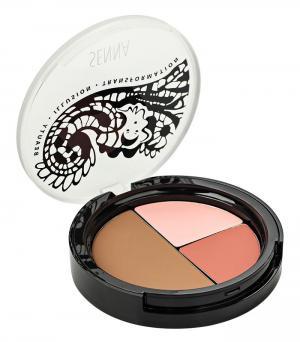 Для лица Senna Cosmetics 01 Blush Contour. Цвет: 01 blush contour