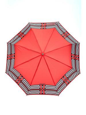 Зонт Slava Zaitsev. Цвет: красный