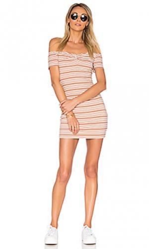Платье coolidge Privacy Please. Цвет: цвет загара