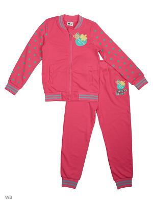 Толстовка и брюки Sago Kids i Ant Domain. Цвет: розовый