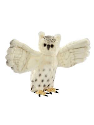 Сова белая летящая Hansa. Цвет: белый