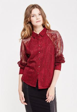 Блуза Silvian Heach. Цвет: бордовый