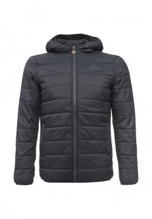 Куртка утепленная Kappa. Цвет: серый