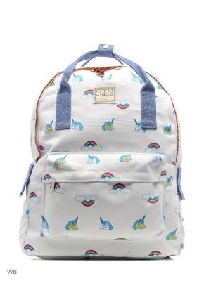 Рюкзак Funky Fish. Цвет: белый