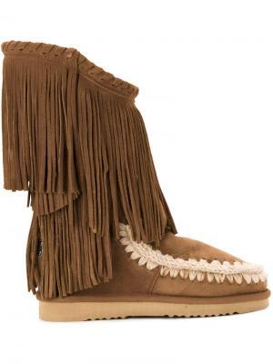 Ботинки Eskimo Inner Wedge Mou. Цвет: коричневый