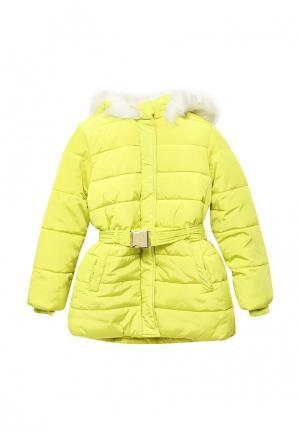 Куртка Incity. Цвет: желтый