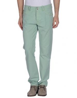 Повседневные брюки HISTORIC RESEARCH. Цвет: светло-зеленый