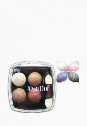Тени для век Alvin Dor D'or. Цвет: фиолетовый