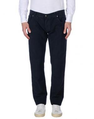 Повседневные брюки RICHARD JAMES BROWN. Цвет: грифельно-синий