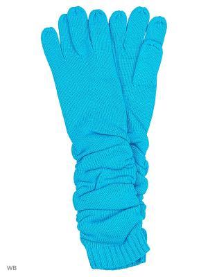 Перчатки Pur. Цвет: бирюзовый