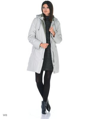 Пальто SIRLI Maritta. Цвет: светло-серый